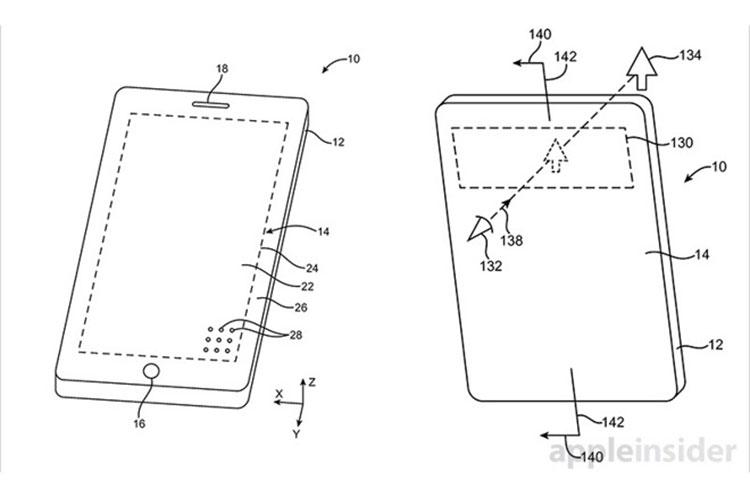اپل پتنت جدیدی در ارتباط با آیفون بدون حاشیه صفحه نمایش منتشر کرد