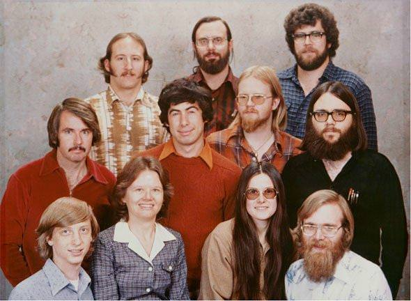 first 11 Microsoft employees